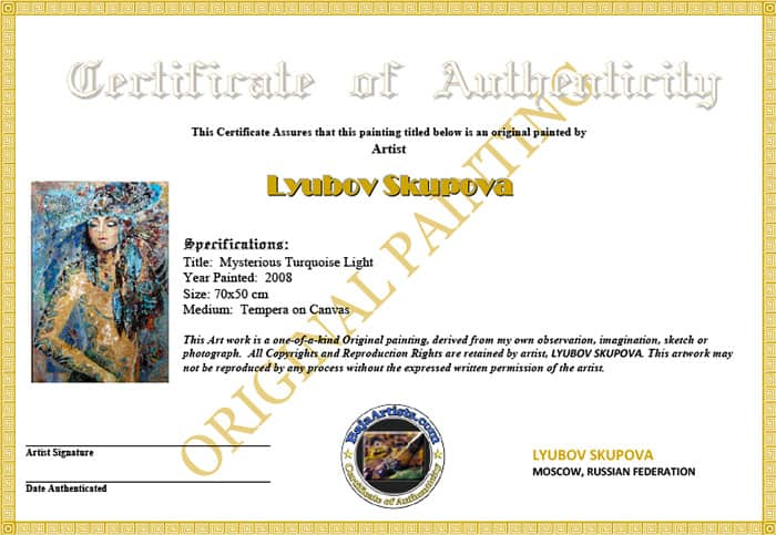 how to make a certificate of authenticity