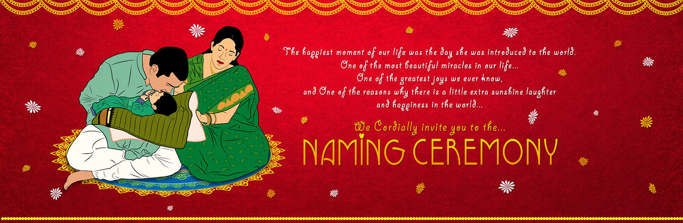 Naming Ceremony Invitations - Word Excel Samples