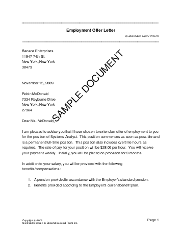 Joining offer letter format vatozozdevelopment joining offer letter format altavistaventures Choice Image