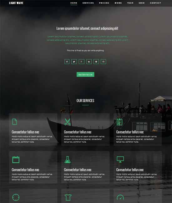 Bootstrap templates free word excel samples for Free bootstrap templates 2016