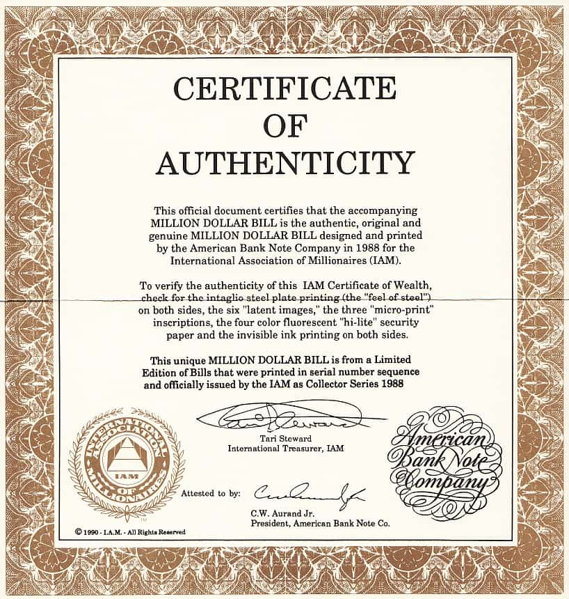 Ridiculous image with regard to printable certificate of authenticity