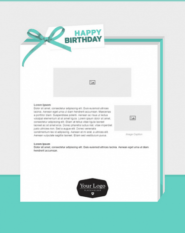 Happy Birthday Email Template 40