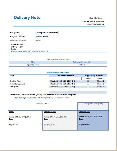 26+ delivery note templates pdf, doc | free & premium templates.