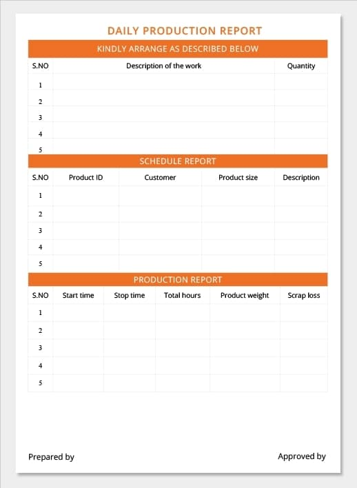 18+ Daily Work Report Templates Free - Word Excel Samples
